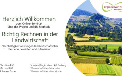 Sozial-ökologische Mehrwerte der Landwirtschaft berechnen